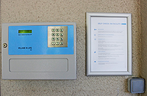 Electronic Check-in Key Safe